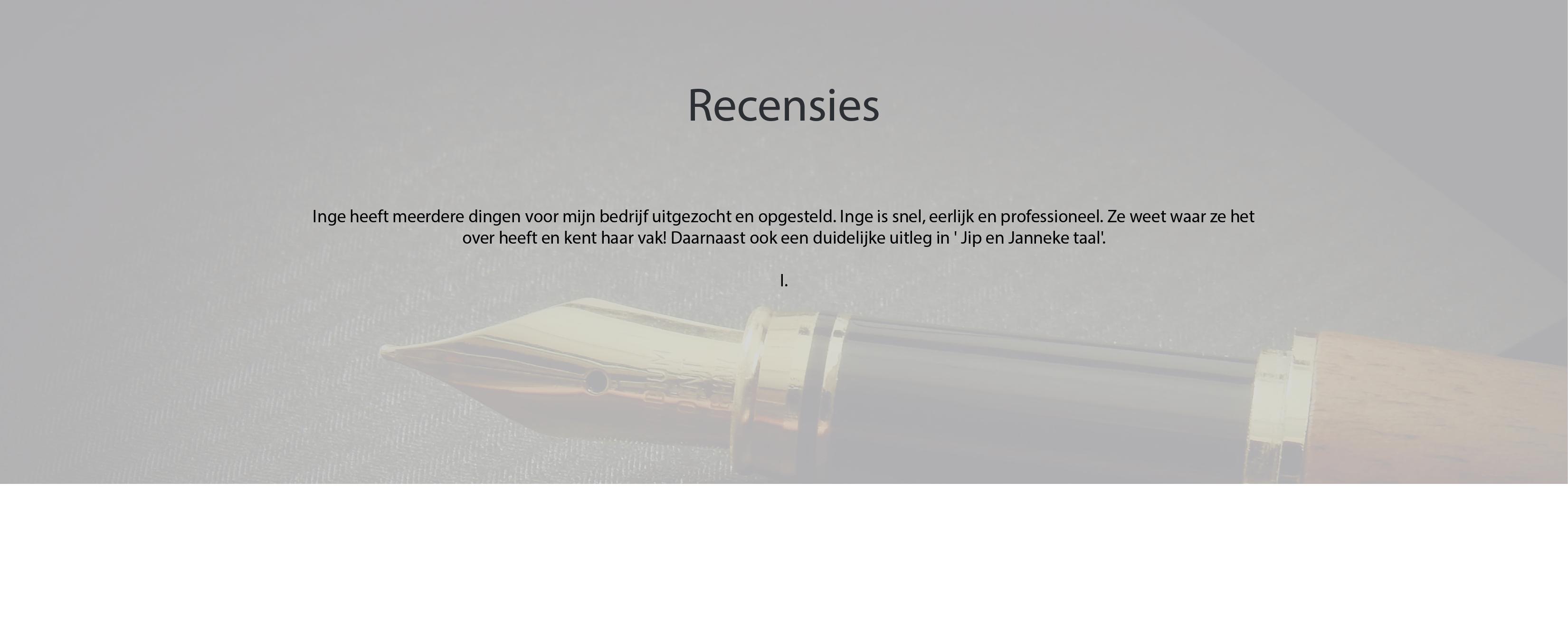 Recensies